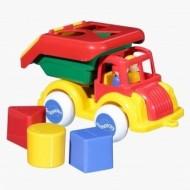 Camion cu forme si 2 figurine Jumbo