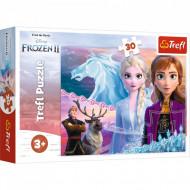 Puzzle Frozen II Curajoasele Surori, 30 Piese