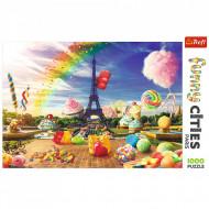 Puzzle Trefl Dulciuri La Paris, 1000 Piese