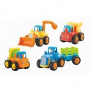 Set 4 vehicule la ferma, Hola Toys