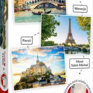 SET PUZZLE TREFL 3 X 500 VENETIA PARIS MONT SAINT-MICHEL