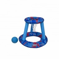 Cos de basket acvatic cu minge inclusa