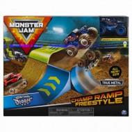 Set Cascadorie Monster Jam Rampa Campionilor