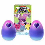 Hatchtopia Life Set 2 Plusuri Surpriza In Ou, Hatchimals