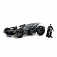 Macheta Metalica Batman Justice, League Batmobile, 20 Cm