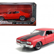 MASINUTA METALICA FAST AND FURIOUS 1970 CHEVY CHEVELLE SCARA 1 LA 24