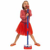 Microfon Reglabil Cu Stativ 80-120 cm, Simba Toys