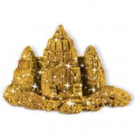 Nisip Kinetic Metale si Minerale Stralucitoare, Auriu, Kinetic Sand