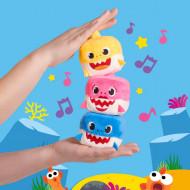 PACHET Cuburi Interactive Baby Shark, Melodie Oficiala, Baby Shark, Mommy Shark Si Daddy Shark