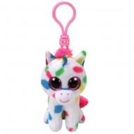 Plus Breloc TY, Harmonie, Unicornul Cu Buline, 8.5 Cm