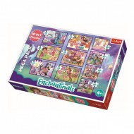 Puzzle Trefl 10 in 1, Aventurile Enchantimals