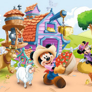 Puzzle Trefl, Mickey Mouse & Friends, Fermierul