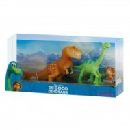 Set 3 Figurine The Good Dinosaur, Arlo, Spot si Butch