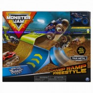 Set Cascadorie Monster Jam Rampa Campionilor