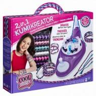 Set creativ Spin Master Cool Maker Kumi Kreator 2 In 1, Creeaza Bratari Si Coliere