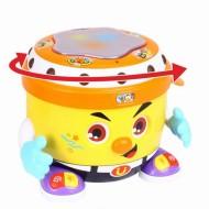 Toba DJ cu inregistrare sunete si lumini, Hola Toys