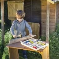 Trusa de scule din lemn, 12 piese