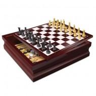 Set 10 jocuri in cutie de lemn Spin Master