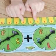 Joc educativ de matematica Petrecerea broscutelor