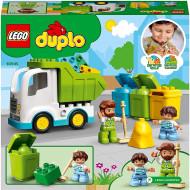 LEGO DUPLO AUTOGUNOIERA SI RECICLARE 10945