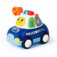 Masina De Politie Cu Lumini Si Sunete, Hola Toys