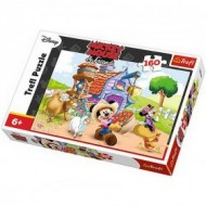 Puzzle Trefl, Mickey Mouse & Friends, Fermierul