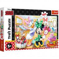 Puzzle Trefl Minnie La Salonul De Infrumusetare, 100 Piese
