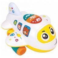 Avion interactiv cu lumini si sunete, Hola Toys