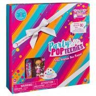 Cutie Cadou Surpriza Pop Party Teenies Cu Papusa Si Accesorii