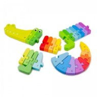 Puzzle Alfabet, Crocodil