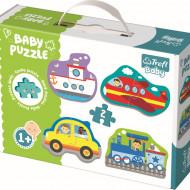 PUZZLE TREFL BABY CLASIC VEHICULE PENTRU TRANSPORT