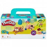 Set De Joaca Plastilina, Super Pachetul cu 20 de Cutii Play Doh