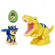 Set Figurina Catelus Chase Si Dinozaurul T-REX, Patrula Catelusilor