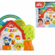 Casuta ABC Cu Sunete Ferma Animalelor, Simba Baby