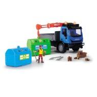 Centru de reciclare cu camion