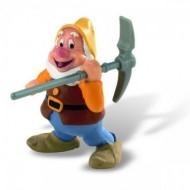 Figurina Disney Alba ca Zapada, piticul Happy
