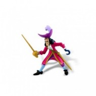 Figurina Disney Jake si Piratii de Nicaieri, capitanul Hook cu sabie