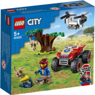 LEGO CITY ATV DE SALVARE A ANIMALELOR SALBATICE 60300