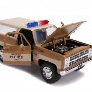 Macheta Metalica 1980 Chevy Police K5, Scara 1:24