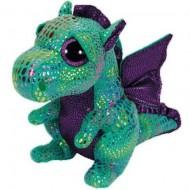 Plus TY, Dragon Verde, Cinder, 15 Cm