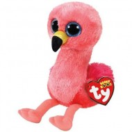 Plus TY, Flamingo Roz , Gilda, 15 Cm
