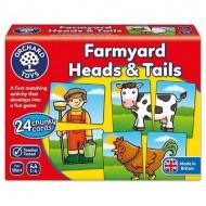 Puzzle educativ, Prietenii de la ferma