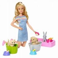 Set De Joaca Barbie Cu Animalutele