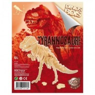 Figurina dinozaur din lemn