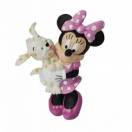 Figurina Disney Minnie Mouse cu pui de catel