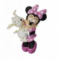 Figurina Disney Minnie Mouse cu pui de catel