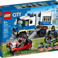 LEGO CITY TRANSPORTUL PRIZONIERILOR POLITIEI 60276