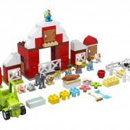 LEGO DUPLO HAMBAR, TRACTOR SI INGRIJIREA ANIMALELOR 10952