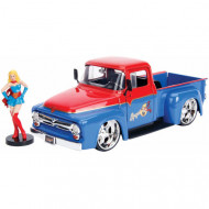 Macheta Metalica DC Comics Bombshells 1956 Ford Super Girl, Scara 1:24