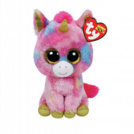 Plus TY,  Fantasia Unicornul Colorat, 15 Cm
